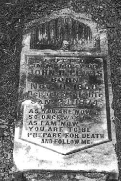 As you are now, so once was me. As I am now, you are to be. Prepare for death and follow me......Lavaca County, Texas - Sweet Home Cemetery tombstone verse