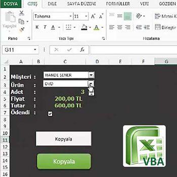 İş Dünyası, Excel Makro (VBA) Başlangıç Rehberi video eğitimi, video ...