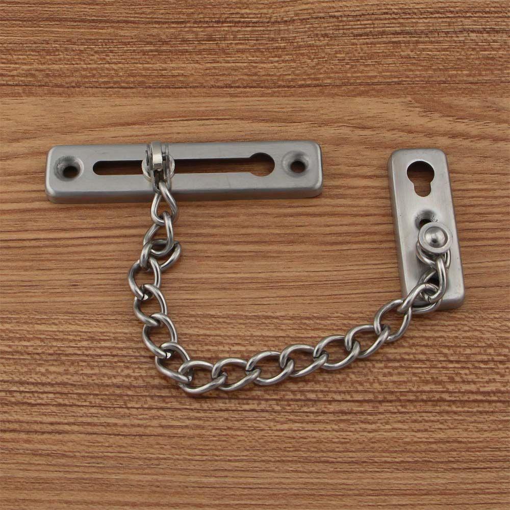 304 Stainless Steel Security Door Chain Door Safety Lock Chain - Buy Door Chain304 Stainless Steel Security Door ChainDoor Safety Lock Chain Product on ... & DOOR CHAIN | DOOR CHAIN | Pinterest | Door chains Steel security ...