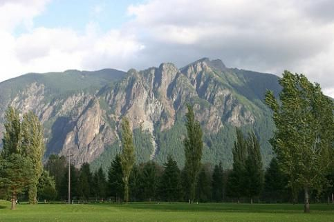 Mount Si The Beautiful Pacific Northwest Mount Si