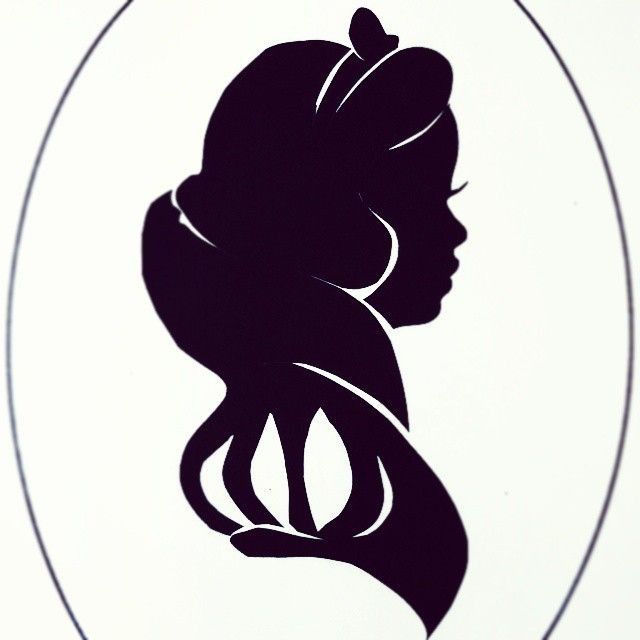 Spi 39 snow white silhouette shadow snowwhite string art project pinterest blanche - Silhouette a colorier ...