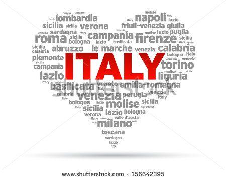 I Love Italy - stock photo