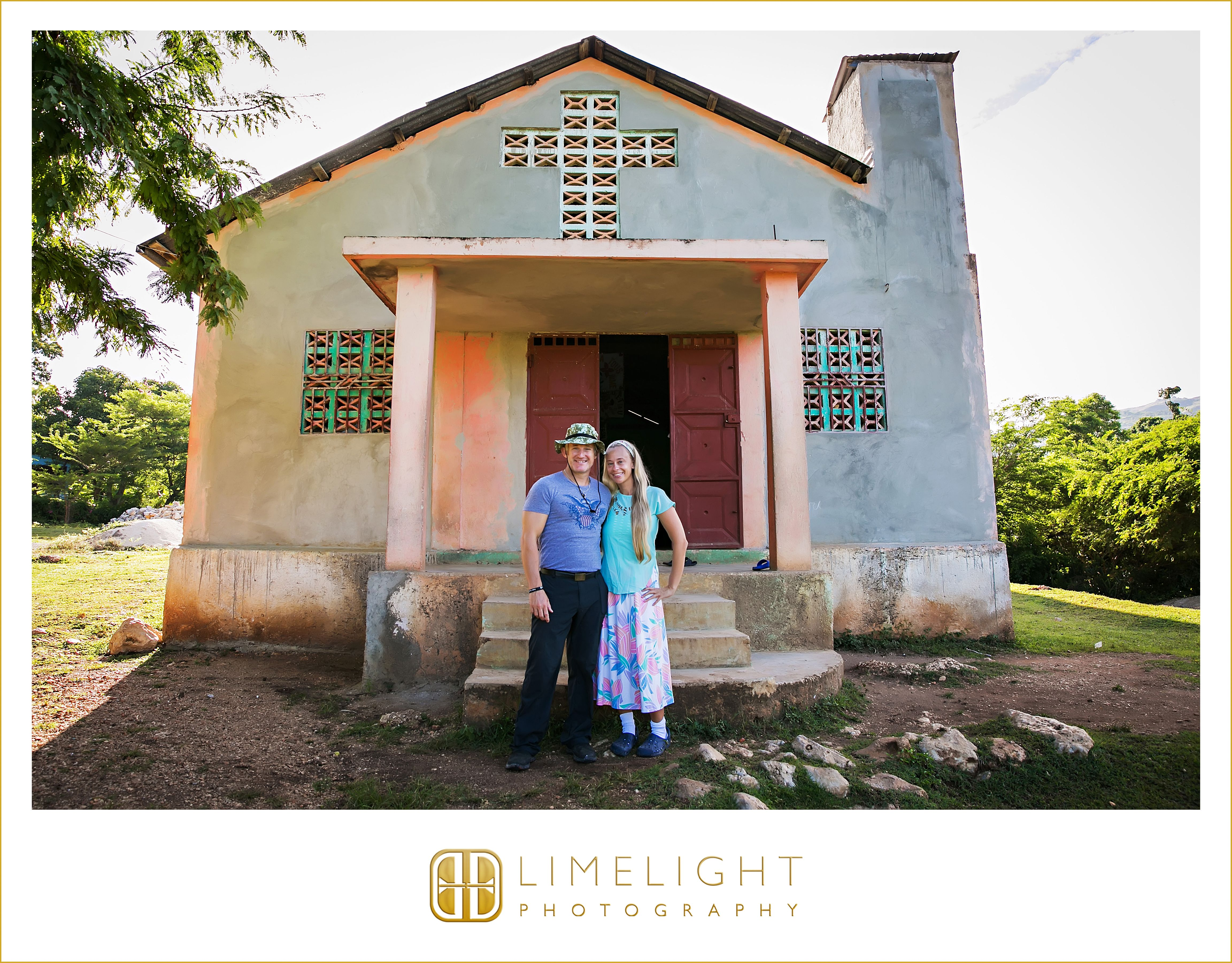 So blessed to travel together as husband and wife to work in Z'Orange, Ouest, Haiti. We do this work for our Lord and Savior Jesus Christ. www.stepintothelimelight.com www.truthem.org