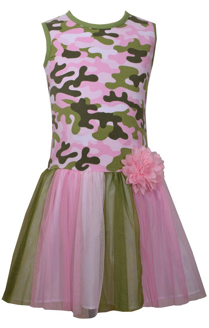 3ad4763ddf519 Bonnie Jean Girls Pink Camo Camouflage Tutu (2t-6x) (2t). Pink and ...