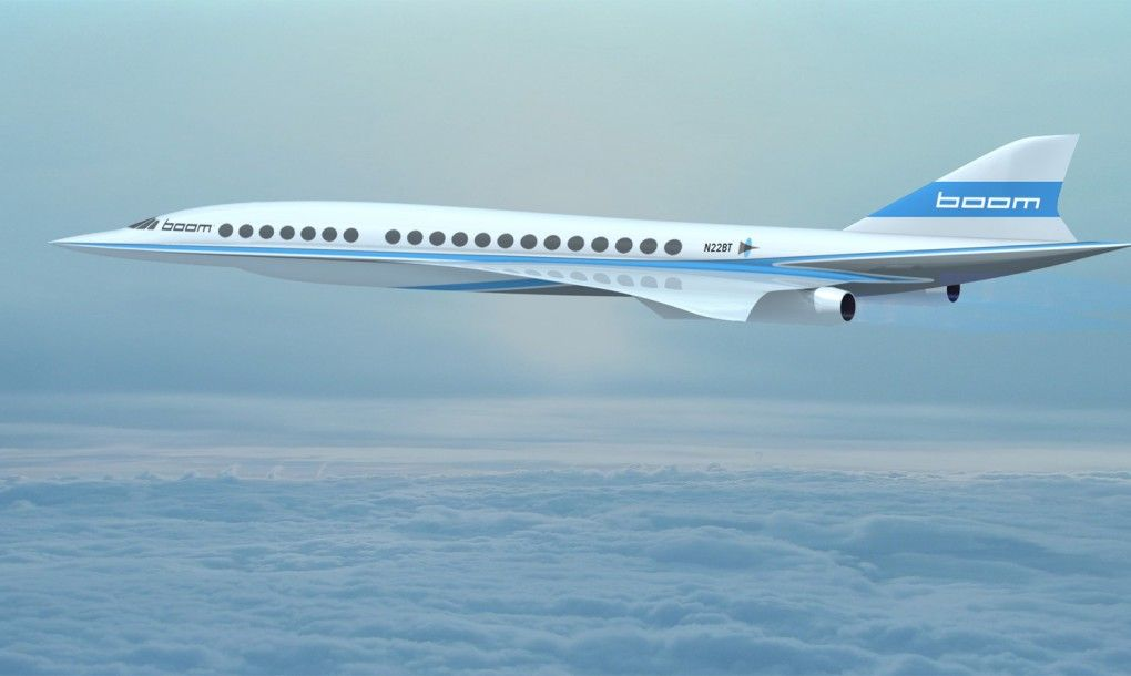 Startup company Boom aims to build a faster, more affordable passenger supersonic jet and are working with Richard Branson's Virgin Group to make their jet a reality.