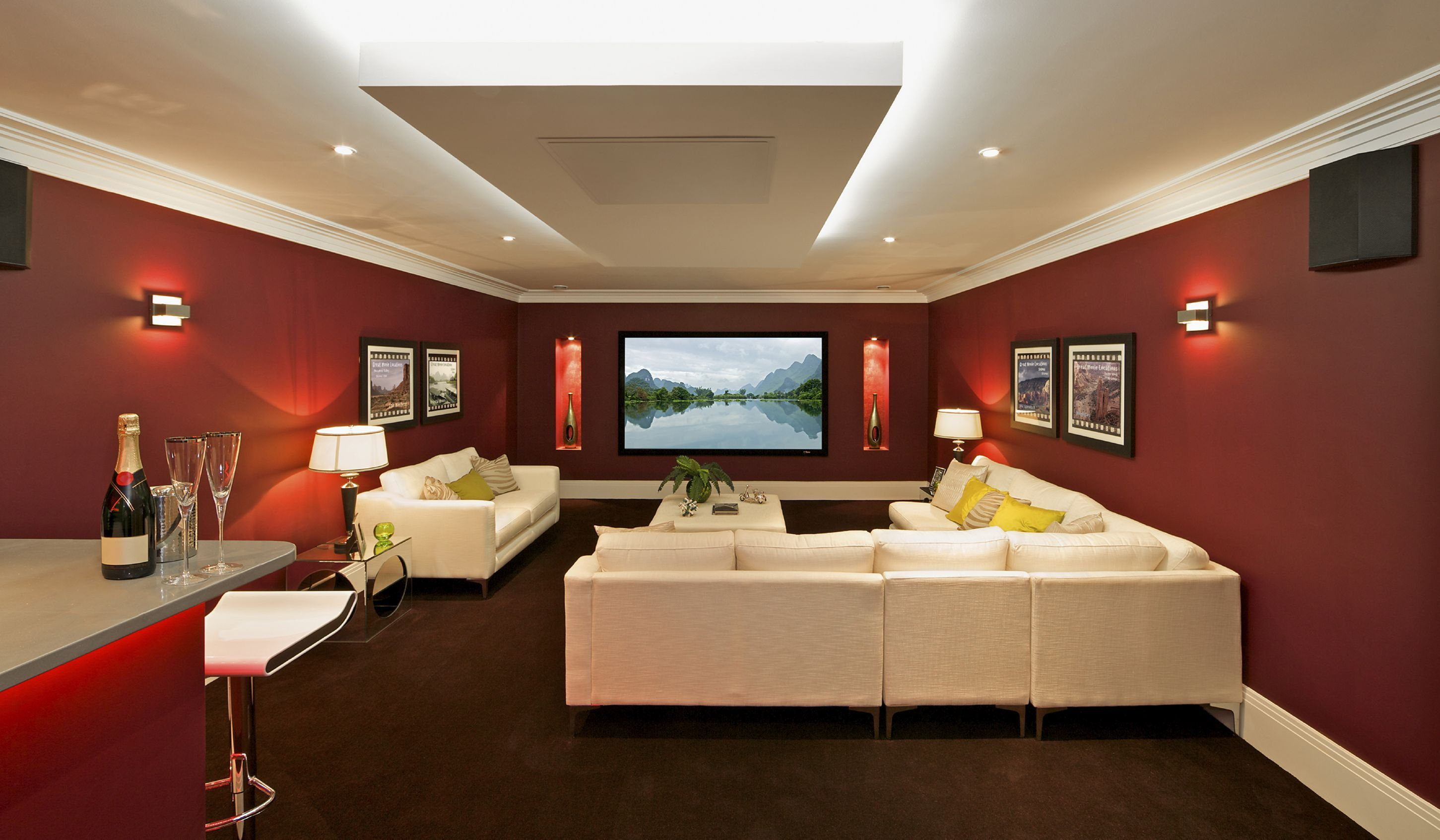 27 Amazing Home Entertainment Center Ideas That People Will Love It With Images Home Theater Rooms Home Theater Seating Theater Room Decor