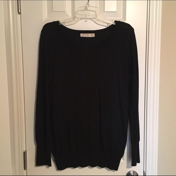 Faded glory simply black sweater | Warm, Nice and Black