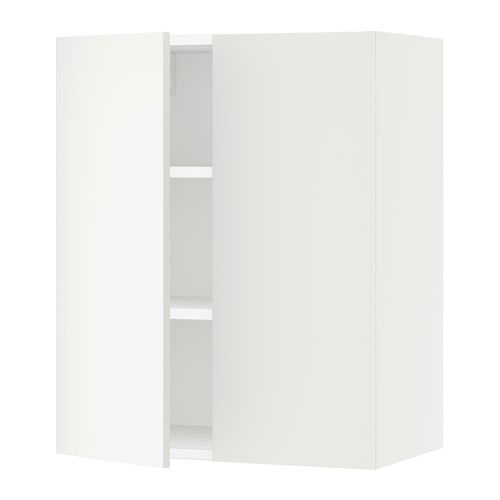 Best Sektion Wall Cabinet With 2 Doors White Häggeby White 400 x 300