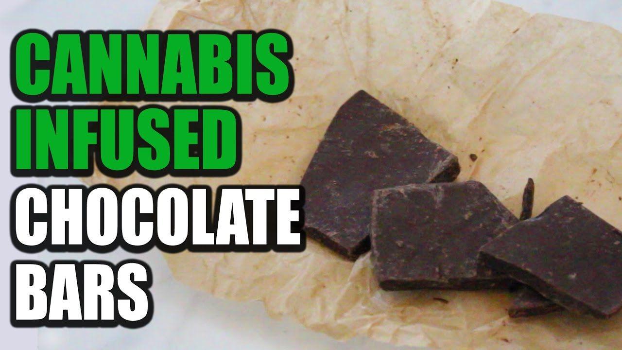 How to Make Cannabis Chocolate Bars - Cannabis Lifestyle TV - YouTube