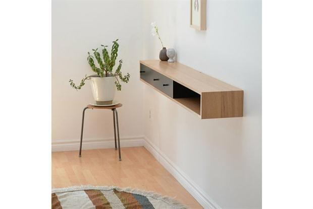 Mesas de arrime 10 modelos con onda Muebles flotantes, Moderno y