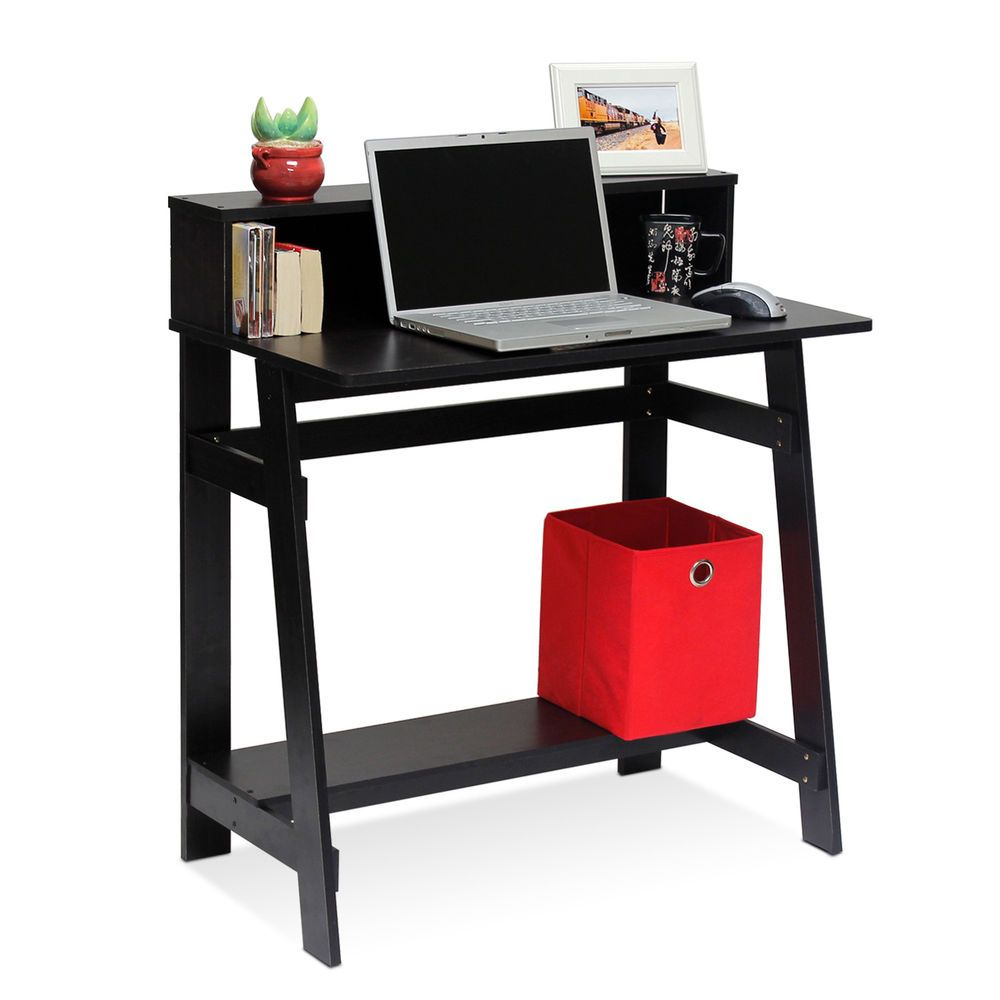 Details about home office compact computer desk study furniture