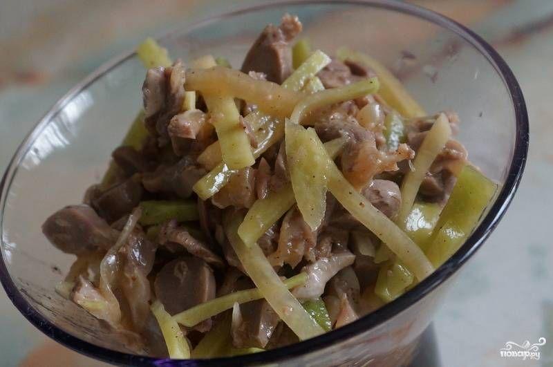 Куриные желудки по-корейски - пошаговый рецепт с фото на ...