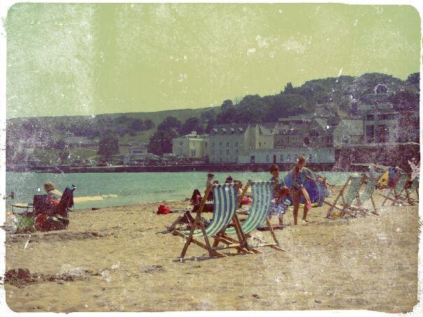 Swanage beach when we knew it!