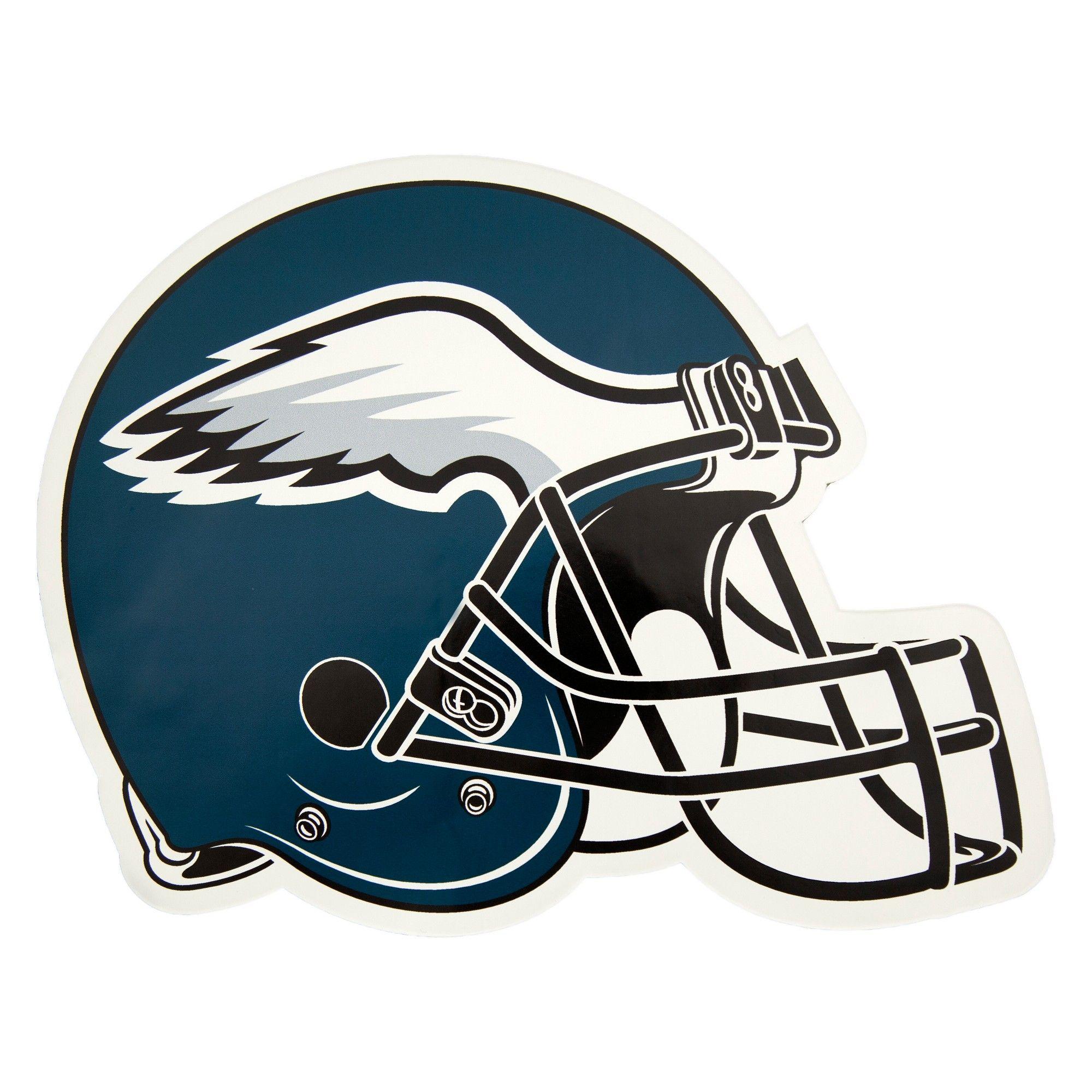 NFL Philadelphia Eagles Small Outdoor Helmet Decal  226b14bff