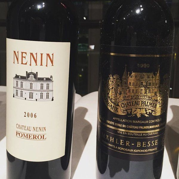 The 2 delicious reds served at the @roomtoread gala in #HongKong. 89 #Palmer was gorgeous