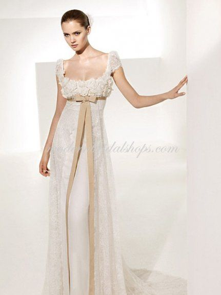 Evening gown meets bed gown I would love it with a pink ribbon ...