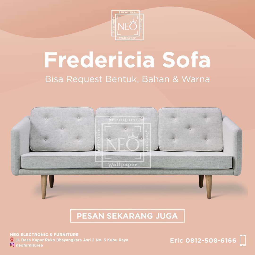 Informasi pemesanan sofa hubungi langsung Neo. Ingin sofa dengan warna tertentu? Bahan tertentu? Di…