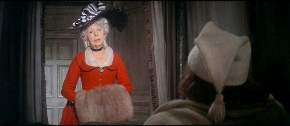Dame Edith Evans as The Ghost of Christmas Past | Ebenezer Scrooge ...