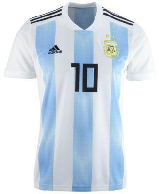 low priced 43efd 699b9 Lionel Messi Argentina National Team Home Stadium Jersey ...