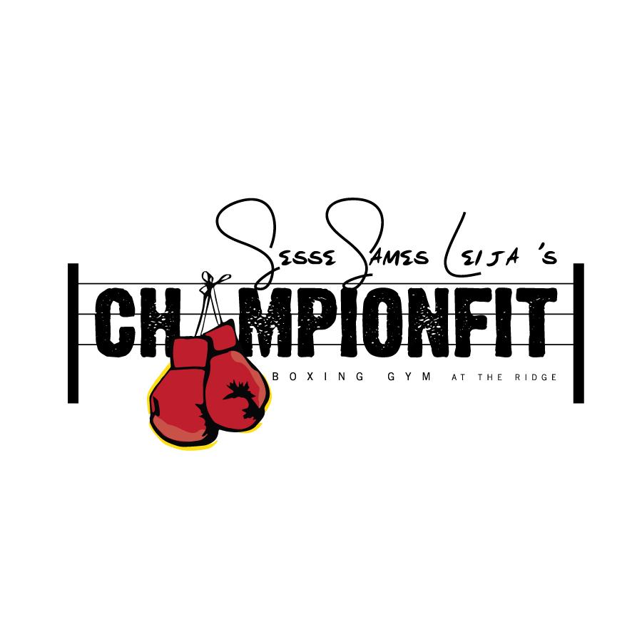 Logo design for ChampionFit Boxing Gym. | Gym Lovers | Pinterest ...