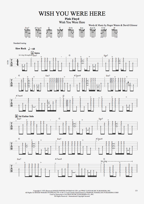 guitar tabs wish you were here | Pink_Floyd-1975-Wish_You_Were_Here ...