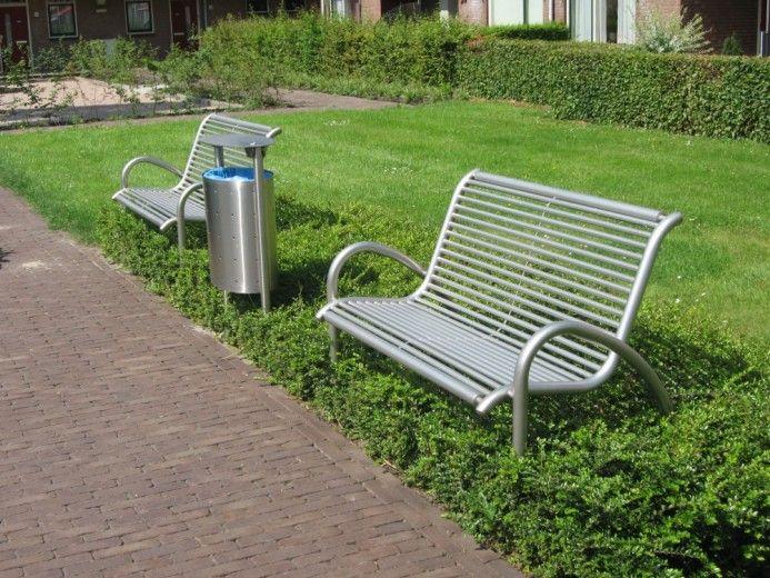 Ongekend RVS tuinbank Peter 3-zits | Tuinwinkel.nl | Tuinmeubelen IL-99