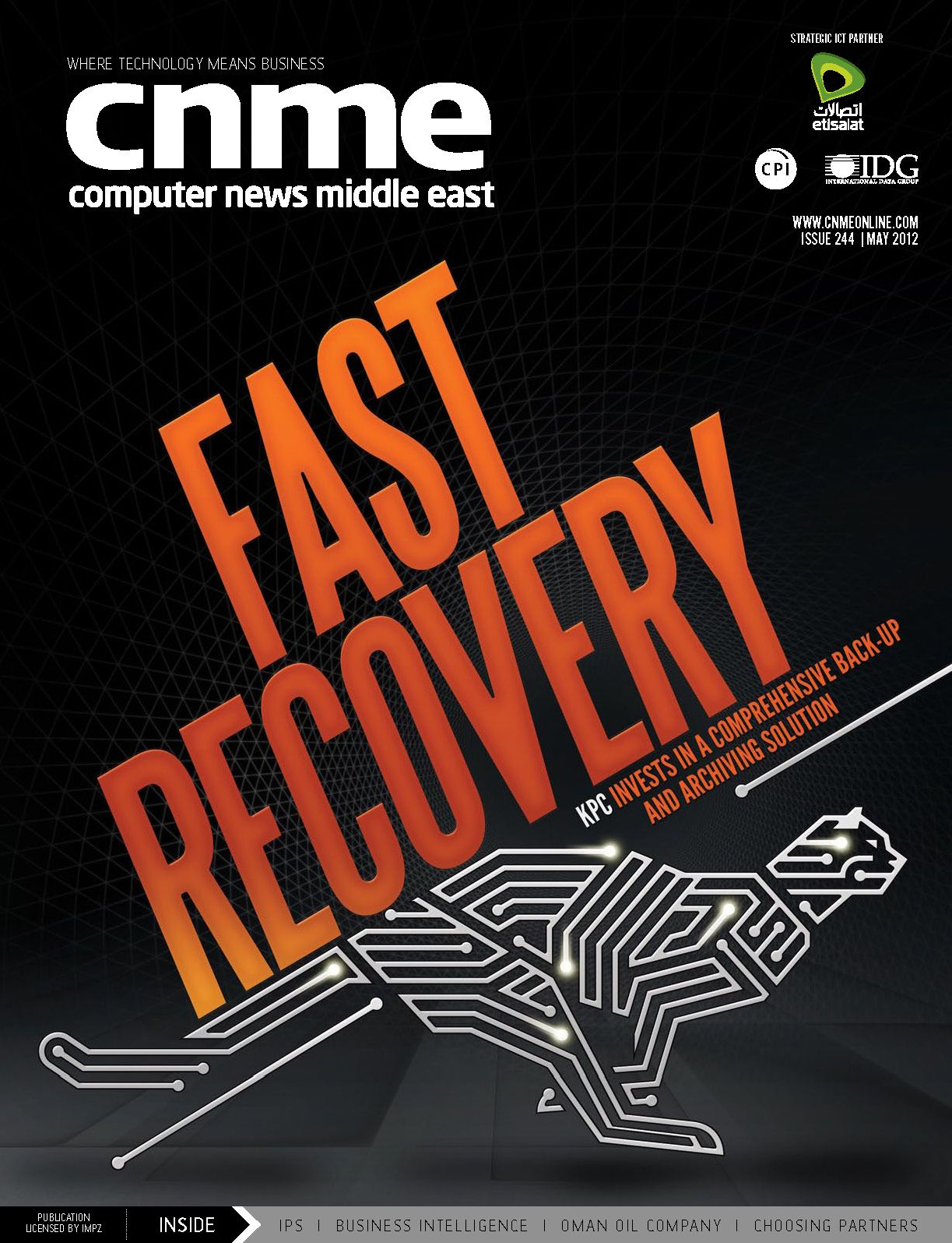 Computer News Middle East May 2012