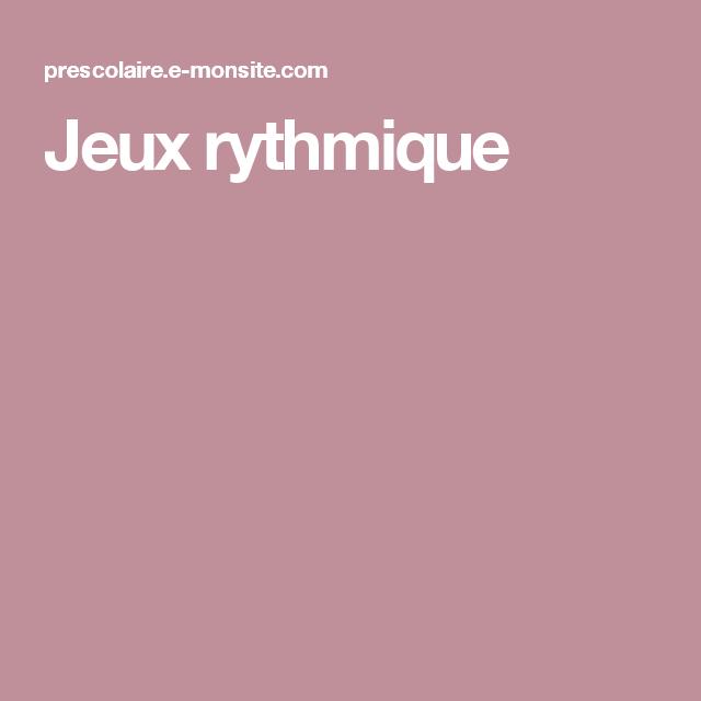 Jeux Rythmique Musique Music Percussion Et Musicals