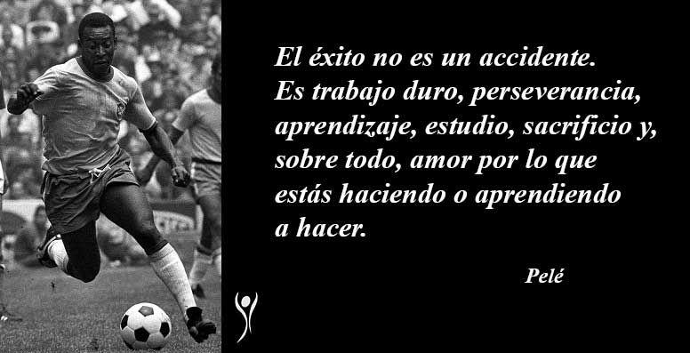 Recopilación De Frases Célebres Sobre El Fútbol De Pelé