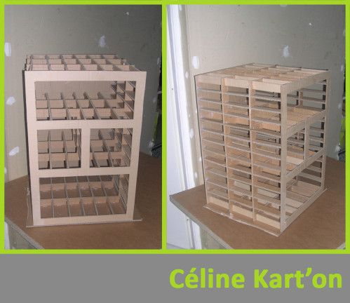 Meuble Scrapbooking Muebles De Carton Casas De Carton Muebles