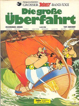 Die Grobe Uberfahrt 22 Asterix Und Obelix Cover Zeitschriften