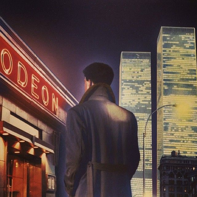Classic Illustration By Marc Tauss For The Cover Of Jay Mcinerney S Bright Lights Big City Cover Art Graphic Design Books Retro Designs