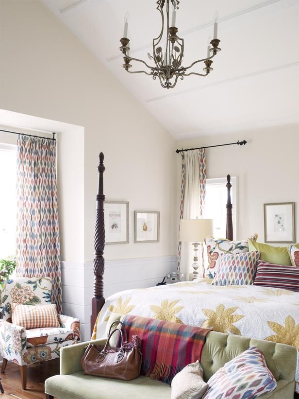 Master Bedroom Sarah Richardson Turns A Farmhouse Into A Retreat