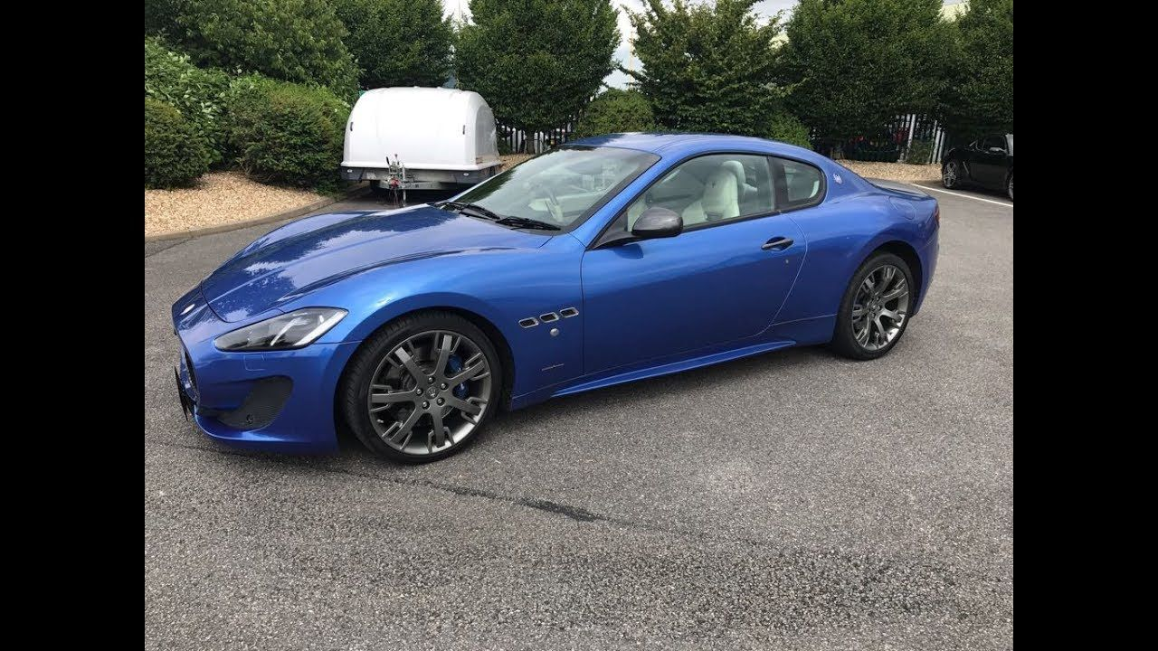2013 Maserati Granturismo Sport 4.7 V8 2 door Coupe For