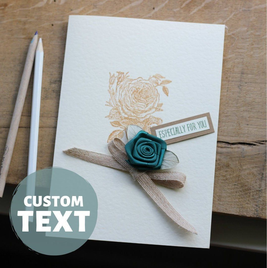 Personalised Emerald Wedding Anniversary Card For Wife
