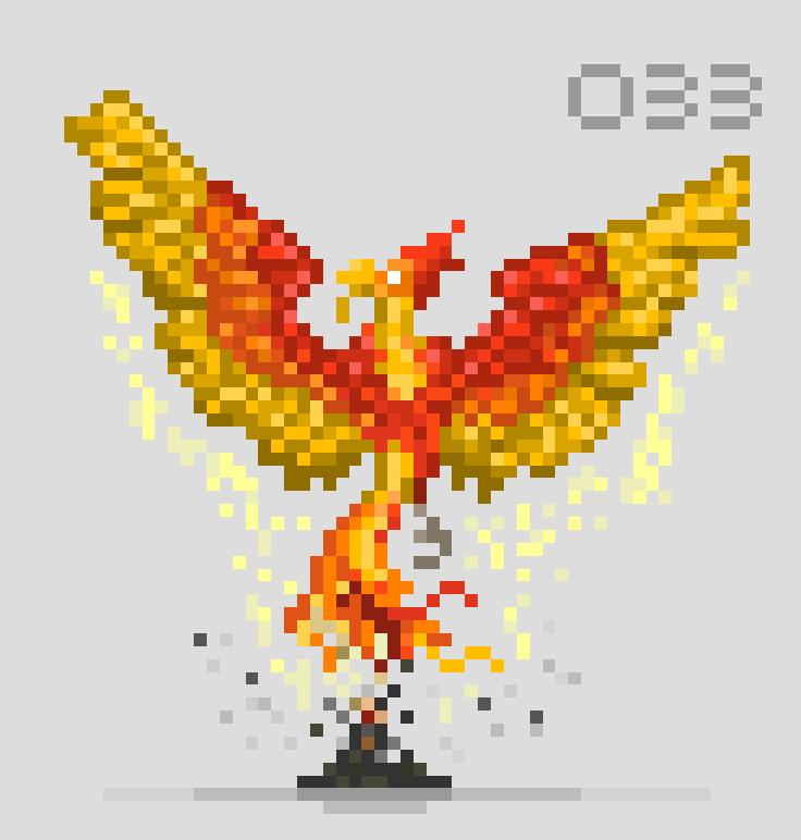 #pixel365 Num. 033: 'Resurrector' #pixelart #character