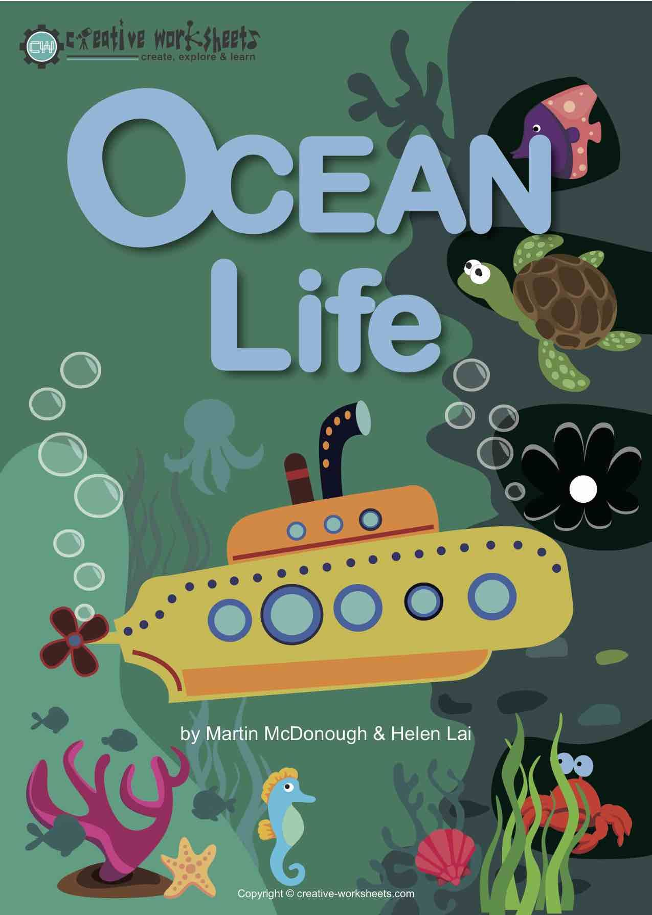 Theme Based Learning Ocean Life