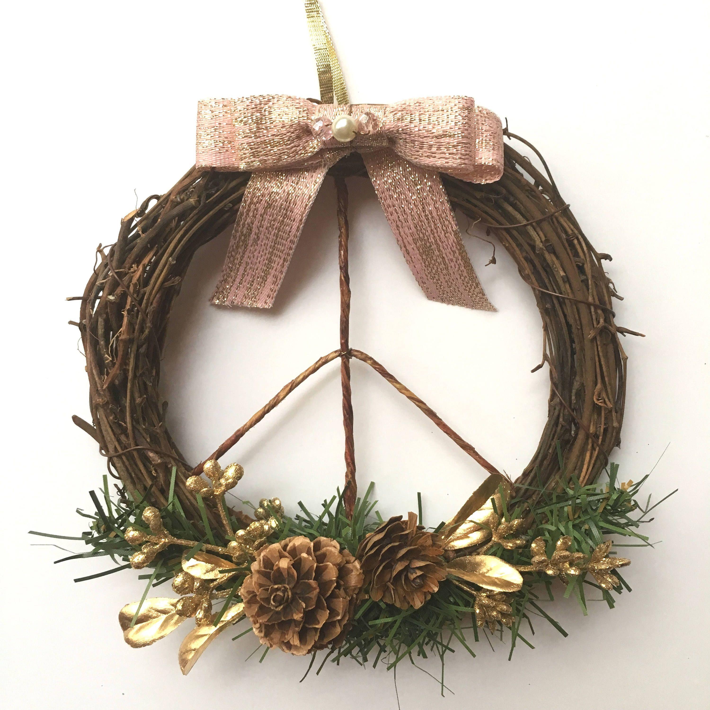 34++ Diy boho christmas wreath ideas