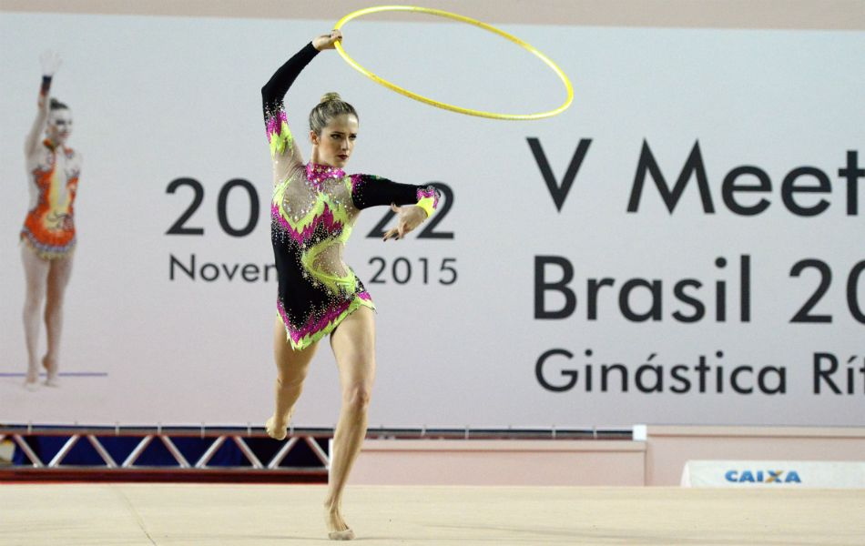 Ao som de Nirvana, no arco, Natália Gaudio prepara coreografia olímpica #globoesporte