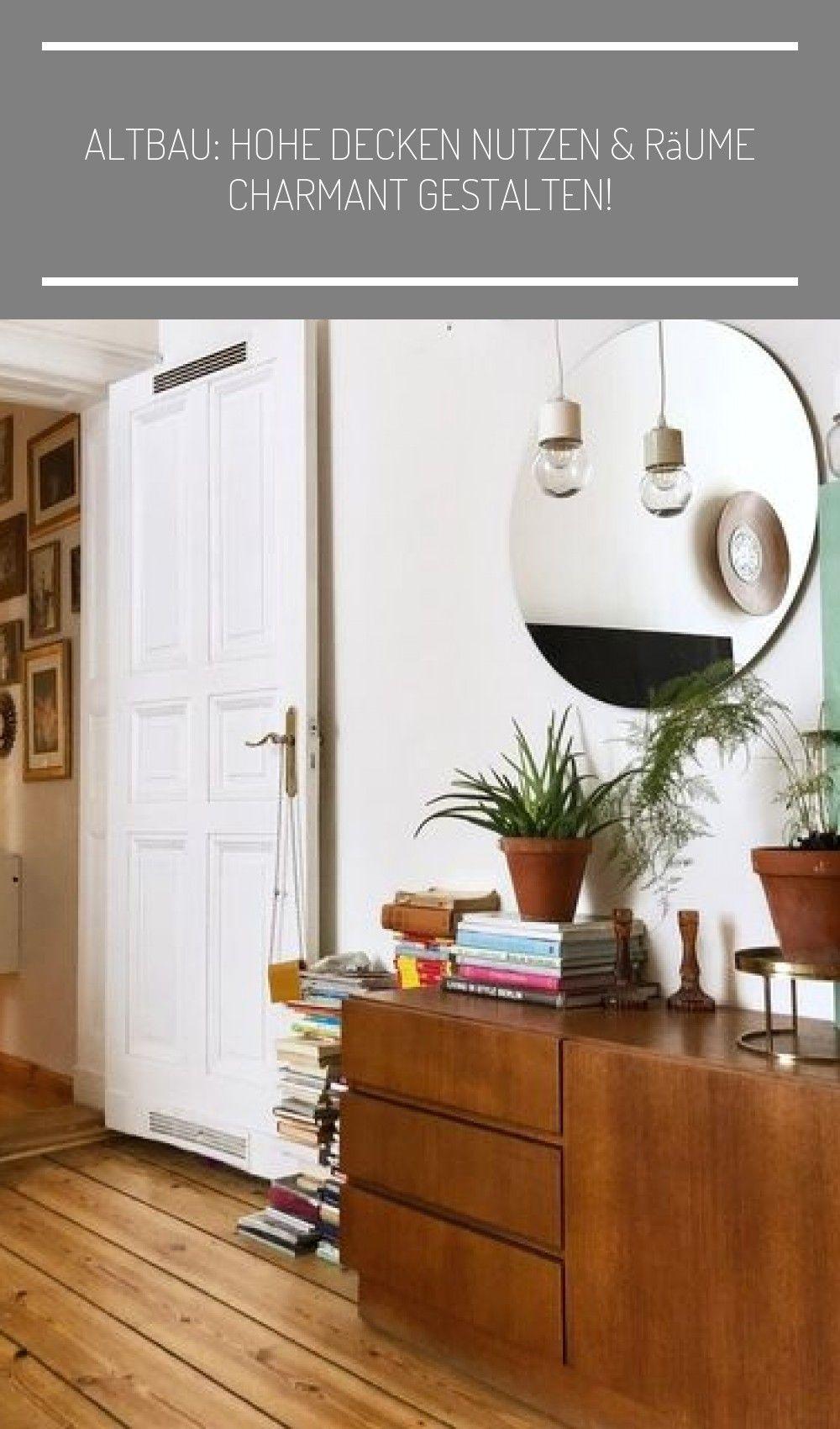 Altbau: Hohe Decken nutzen & R in 7  Home decor, Interior