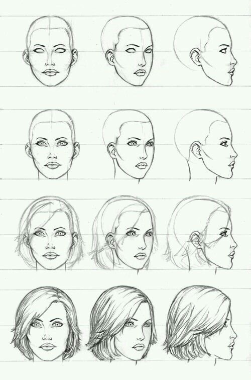 Pin By Nuwewenka On Art References Drawing Tutorial Face Female Face Drawing Profile Drawing