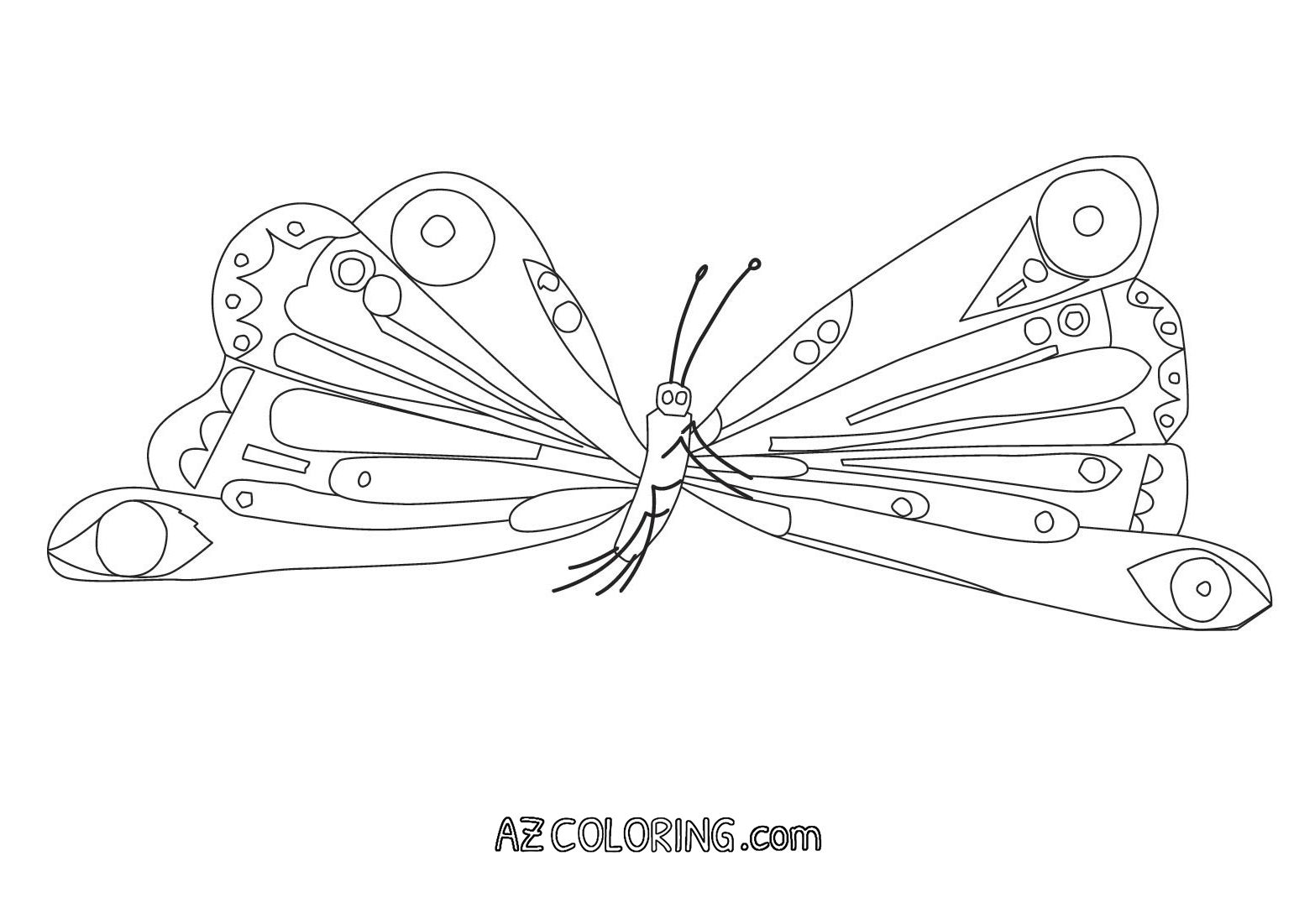 Hungry Caterpillar Coloring Pages Very Hungry Caterpillar Coloring Pages Printables Glandigoart Entitlementtrap Com Very Hungry Caterpillar Butterfly Coloring Page Mermaid Coloring Pages