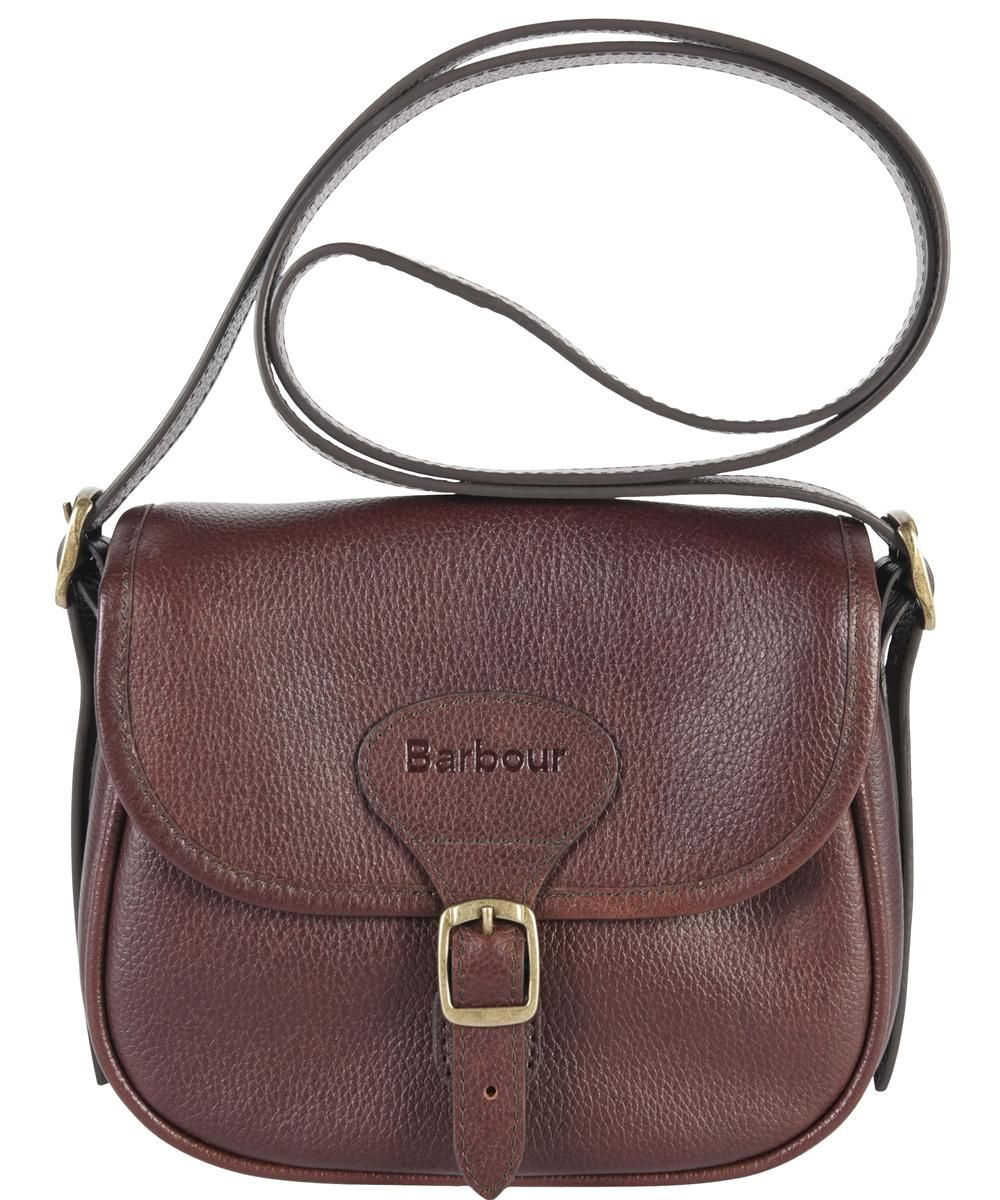 d3c881ba3243e ... Accessories at CHO Fashion & Lifestyle. Womens Barbour Mini Leather  Beaufort Bag - Brown