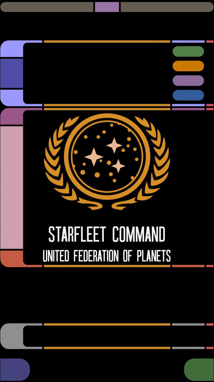 Star Trek LCARS iPhone Wallpaper WallpaperSafari Cosas