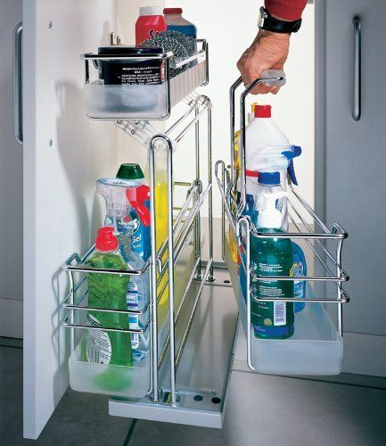 Pull Out Wire Basket Base Cabinet Chrome Kitchen Storage: Pin By Marjorie Tornatore On Organization/Cleaning Ideas