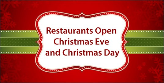 Restaurants Open On Christmas Eve 2020 Near Me Restaurants Open on Christmas Day 2020   Happy New Year 2020