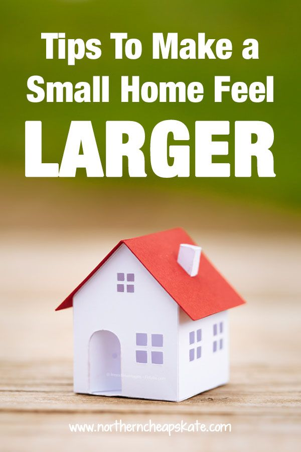 tips to make a small home feel larger small house on fast and easy ways to refresh your home on a budget id=15134