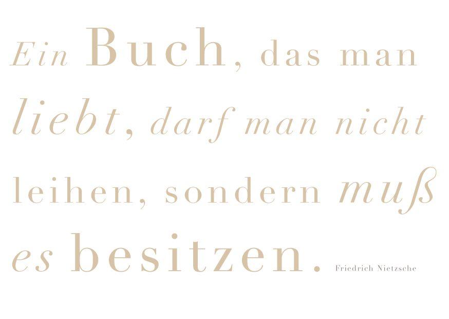 Besitzen Zitate Spruche Zitate Bucher