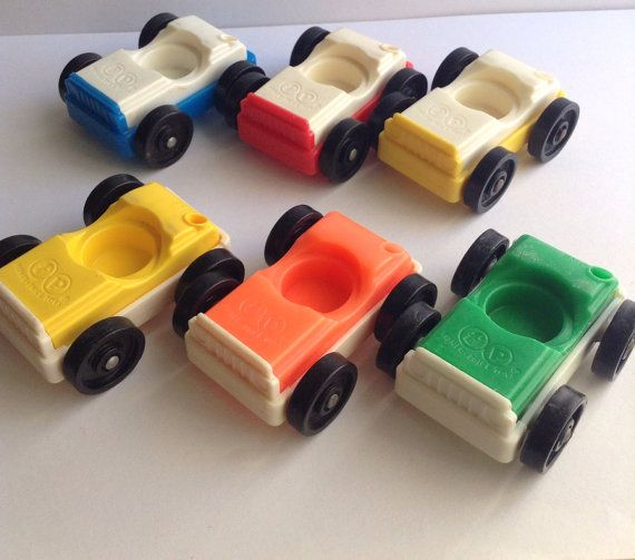 Fisher Price Little People Garage Vehicle yellow car jeep truck Automobile auto