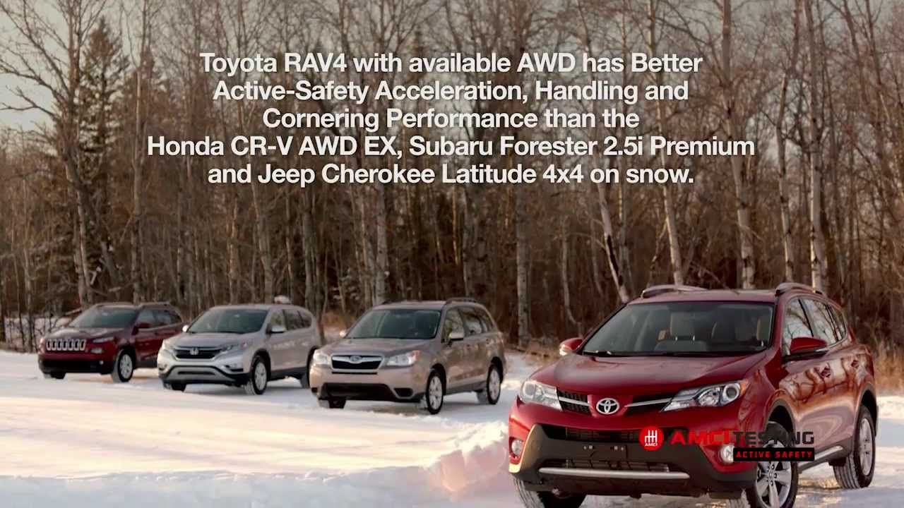 snow handling handled the toyota rav4 bests the competition beautiful